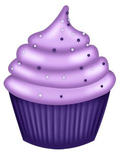 Muffin clipart purple Art best element 20 on