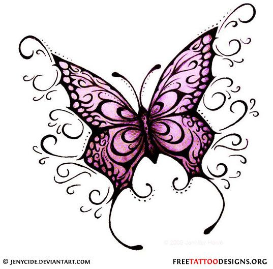 Purple Rose clipart small butterfly #10