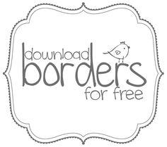 Physcedelic clipart fun frame Borders Free Free Invitations