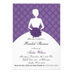 Mauve clipart bridal shower Bridal short DETAILS SOLTERA Invitations