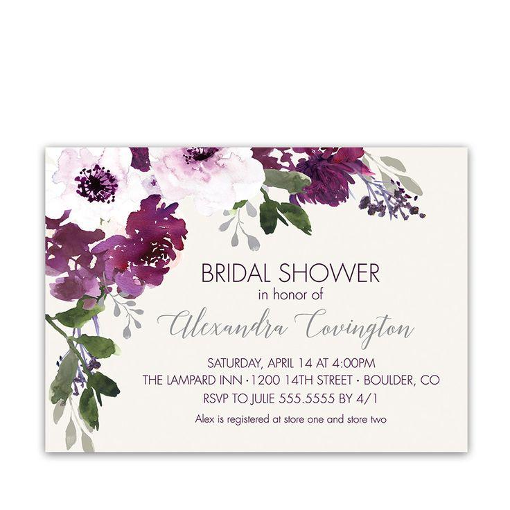 Mauve clipart bridal shower Bridal colors Purple ideas flowers