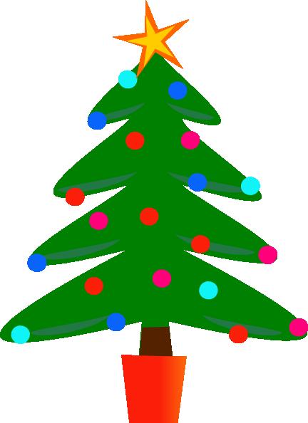 Christmas Tree clipart simple Tree Tree Christmas Clipartion Christmas