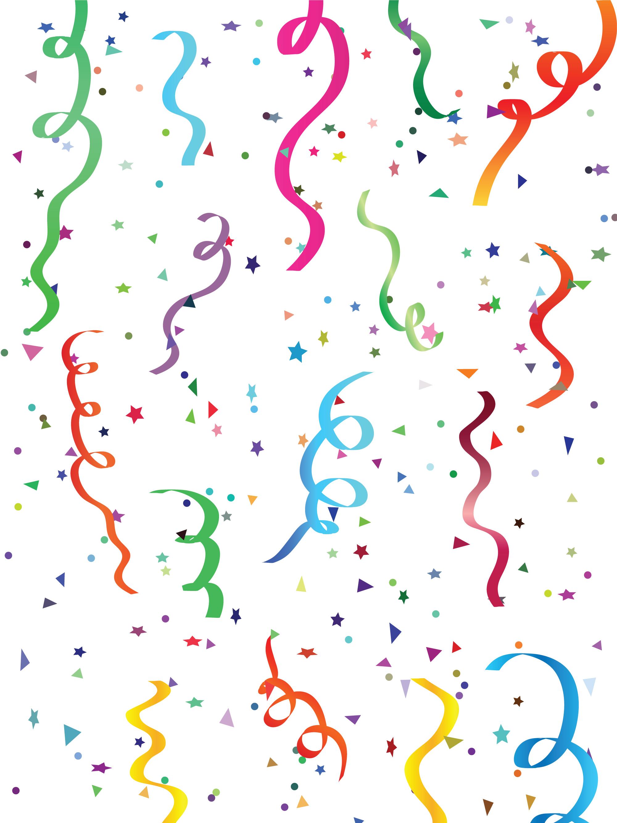 New Year clipart confetti CONFETTI POKER New CHIPS ClipartConfettiDigital