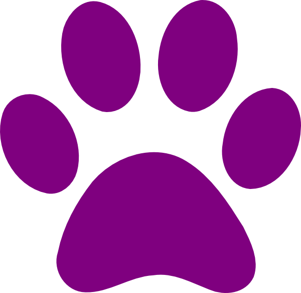 Wildcat clipart panther paw Art art art royalty art