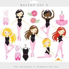 Ballerina clipart ballet class #1