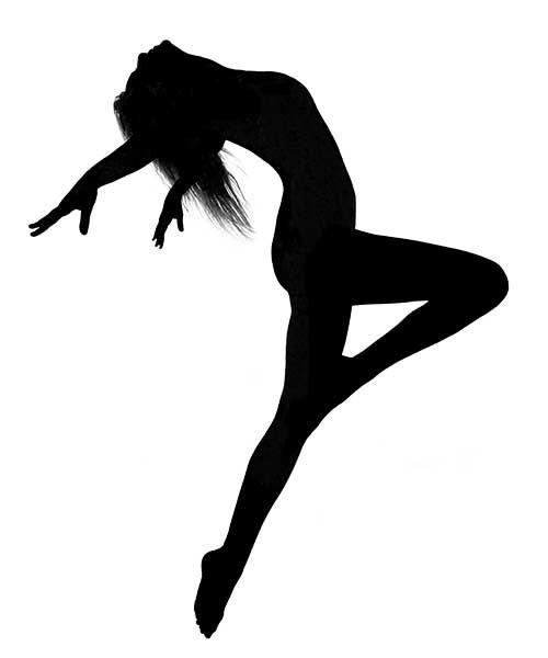Danse clipart modern dance Panda 25+ ideas Jumping Silhouette