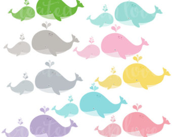 Mother And Baby clipart whale And Art Mom Whale Art