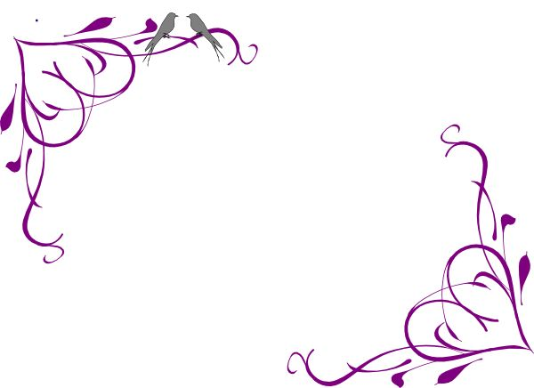 Purple Rose clipart love #3