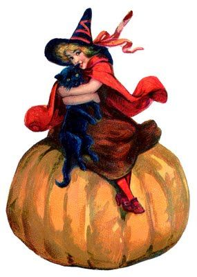 Moon clipart vintage halloween Halloween images Best Adorable 25+