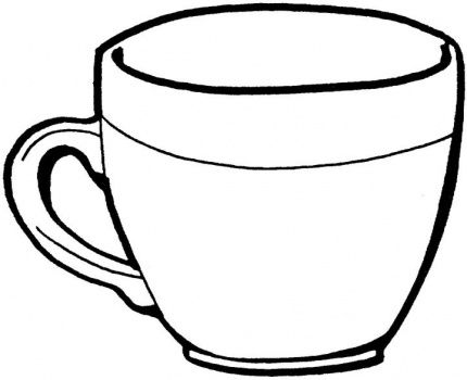 Drawn cup Super on images Teacup coloring