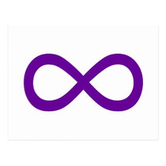 Mauve clipart pacifier Plain Symbol Zazzle Postcard Infinity