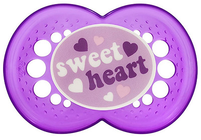 Mauve clipart pacifier Pacifiers Heart Baby Sweet for