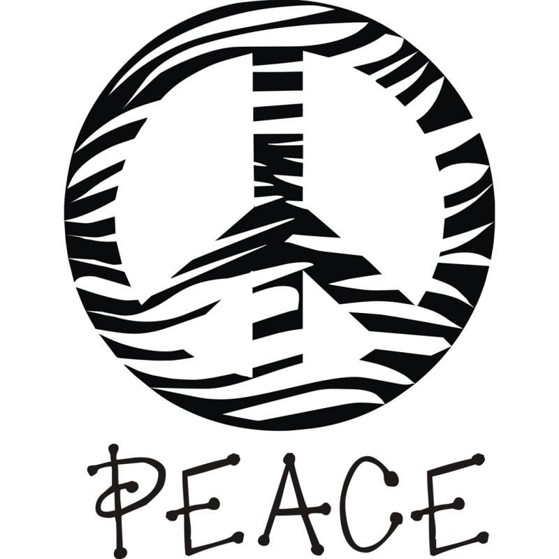 Peace Sign clipart zebra Clipart Panda Peace zebra%20peace%20sign%20clipart Free