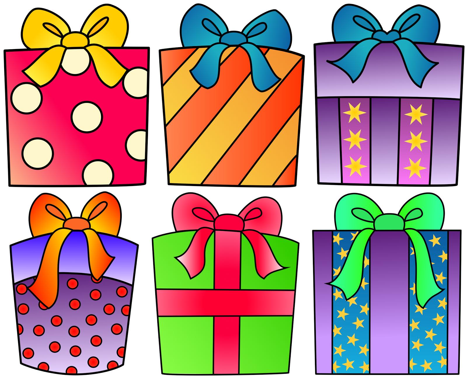 Gift clipart birthday celebration #3