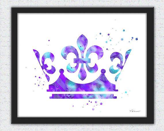 Mauve clipart princess crown On 10+ Purple princess print