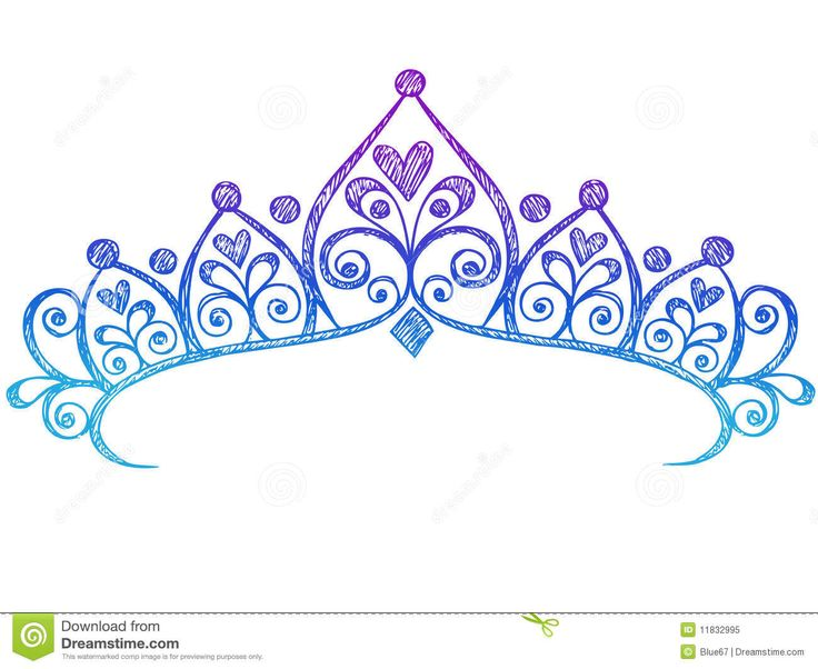 Mauve clipart princess crown Pinterest dreamstime and Royalty Sketchy