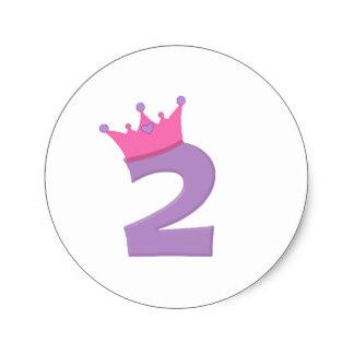 Mauve clipart princess crown Princess Crown Purple 2 Sticker