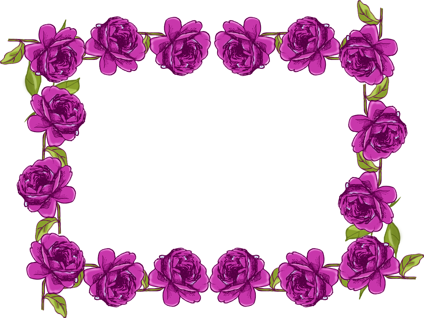 Purple Rose clipart fancy heart Like Cliparts you Border quality