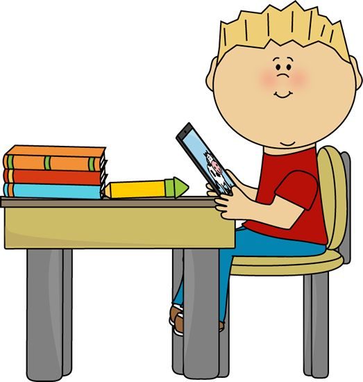 Desk clipart cute student DAYS♥ Boy best School with