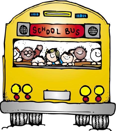 Mauve clipart school bus Free Supplies Clip Free Images