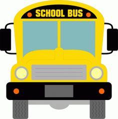 Mauve clipart school bus I Store! Outline Silhouette love