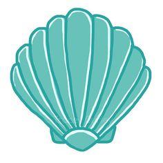 Mauve clipart seashell Beach color clip art 2
