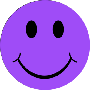 Smiley clipart purple Images Clipart Clipart Monster Free