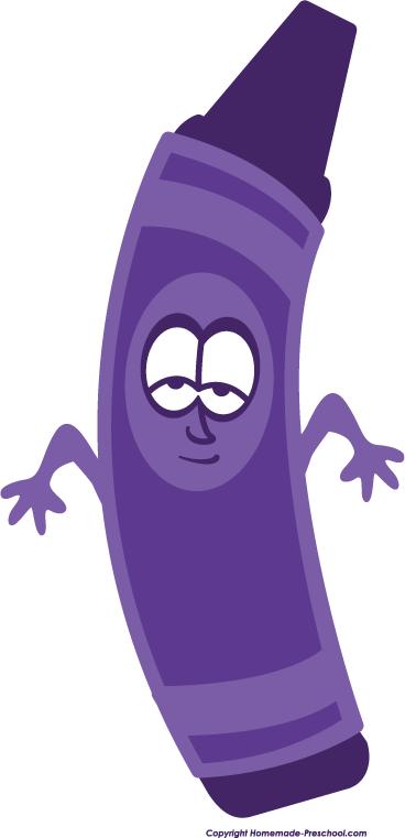 Crayon clipart face Art Purple Clipart Free purple%20crayon%20clip%20art