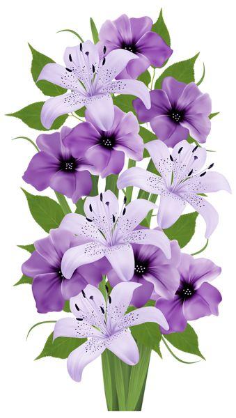 Bouquet clipart spring flower bouquet PNG VECTORES on images Exotic
