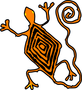 Mayan clipart Clip Clip Lucertola com Lucertola