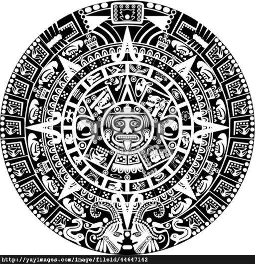 Aztec clipart guatemala #11