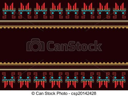 Aztec clipart guatemala #4