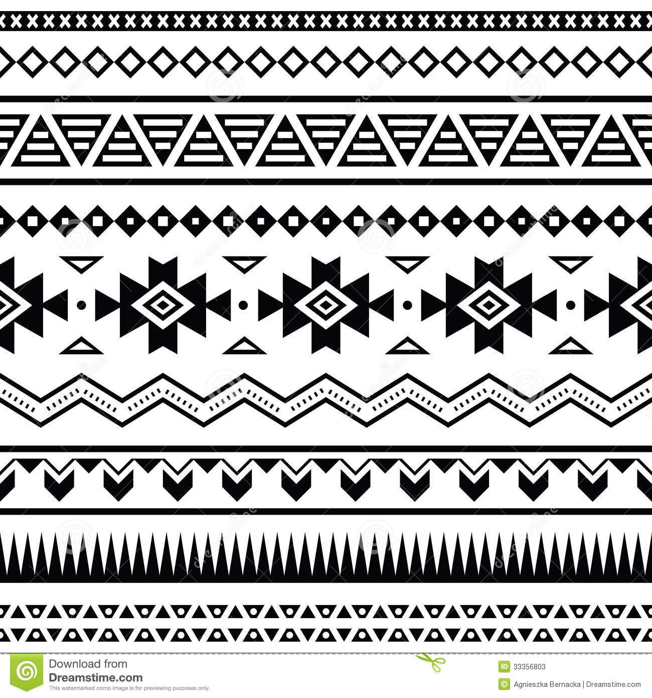 Aztec Warrior clipart border  Aztec crafty Download border