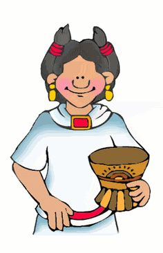 Aztec clipart mayan person Floating The for Kids People