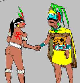 Mayan clipart early man The and the Ancient Tainos