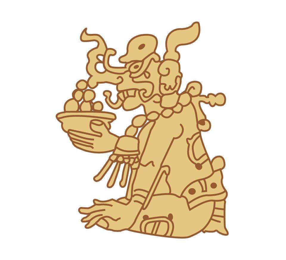 Mayan clipart ks2 God1 Gods Mayan Out God