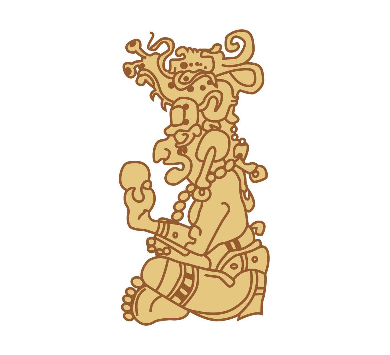Mayan clipart ks2 God2 Gods Mayan Out God