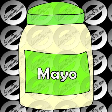 Mayonnaise clipart For  Mayonnaise / Use
