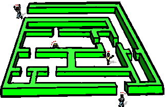 Maze clipart Clip Maze Art art clip