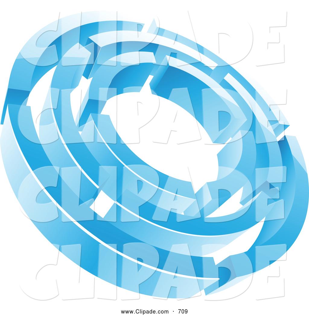 Maze clipart abstract Blue Circle Maze Cold Ice