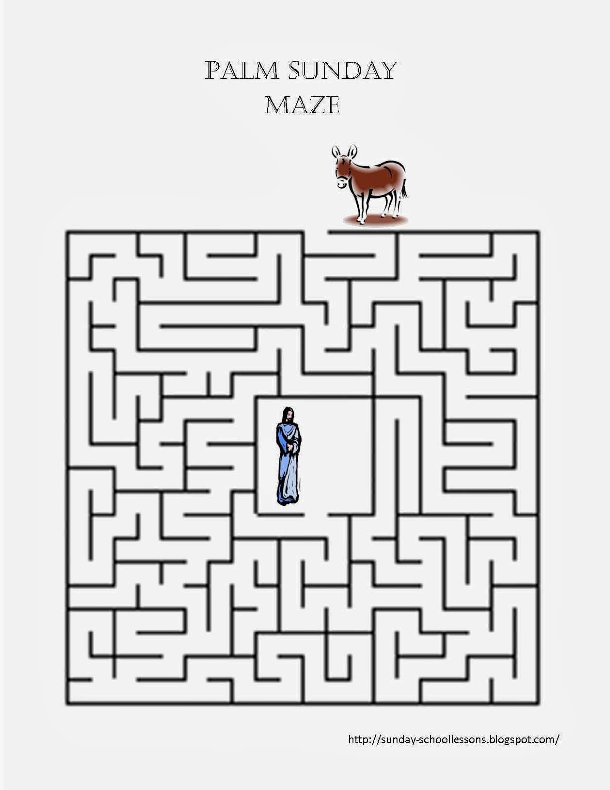 Maze clipart activity page #2