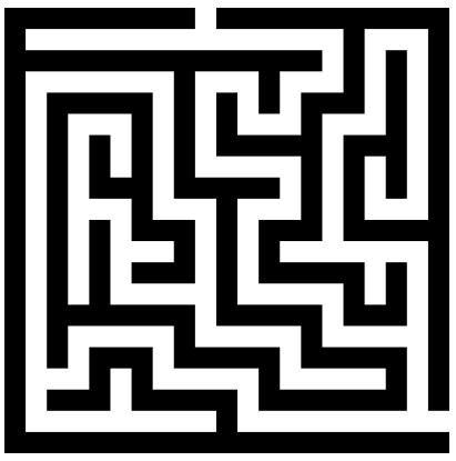 Maze clipart black and white Up Maze following that white