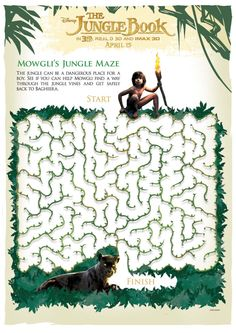 Maze clipart jungle #8