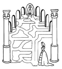 Maze clipart princess Printable com for at for