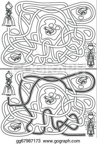 Maze clipart princess Clipart frog in search Clipart