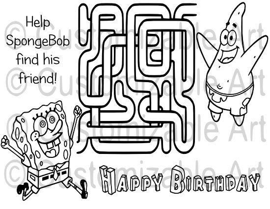 Maze clipart printable Cartoon by Page Kids about