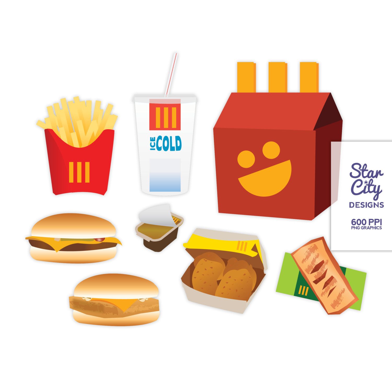 McDonald's clipart Mcdonalds Clipart Food Mcdonalds Fast