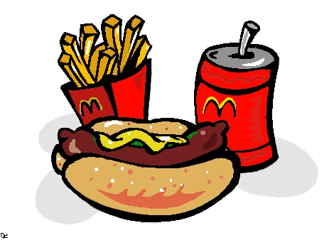 McDonald's clipart food McDonalds by drawing) (food Cartoon