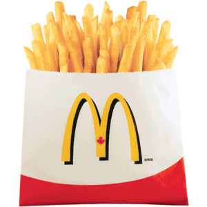 McDonald's clipart french fry Small junk food;D McDonalds Fries