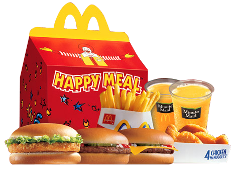 Burger clipart happy meal » UK McDonalds Share »